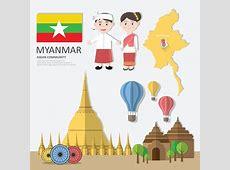 Myanmar, Asean Economic Community aec Infographics With