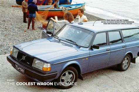 The Volvo 240 GLT Turbo Wagon, Coolest Wagon Ever Made   Gear Patrol