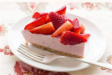 image may contain kitchen and strawberry cone pie barefeetinthekitchen com