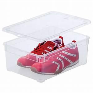 Boite A Chaussure Transparente : boite a chaussures homme 10l transparente avec couvercle ~ Teatrodelosmanantiales.com Idées de Décoration