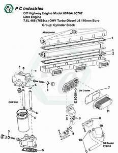 Off Highway Engine Model 6076a   6076t Litre Engine 7 6l