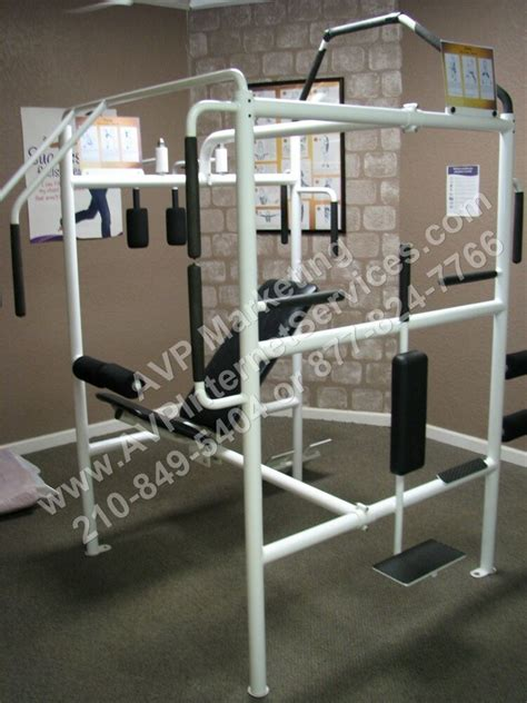 stretching station machine  curves exercise