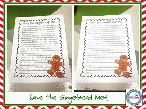 Gingerbread Man Writing Paper Get Math Help Gingerbread Man Recipe