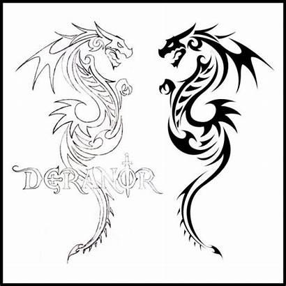 Tattoo Tribal Dragon Tattoos Cool Designs Dragons