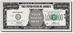 photobucks picture yourself on a million dollar bill With million dollar bill template