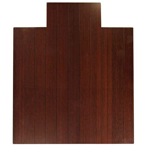 anji mountain deluxe brown mahogany 44 in x 52 in