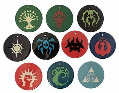 Guild Symbol Ornaments Ceramic Mtg Azorius Boros