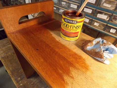 Minwax Hardwood Floor Reviver Before And After by How To Fix A Water Stained Bench Minwax