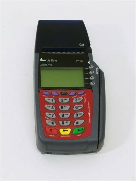 Such as activate/deactivate card for overseas use, change of atm withdrawal and debit card spending limits and link or unlink accounts for atm use. Verifone VX510 Credit Card Machine *Untested, No Power Cord, As Is*   eBay