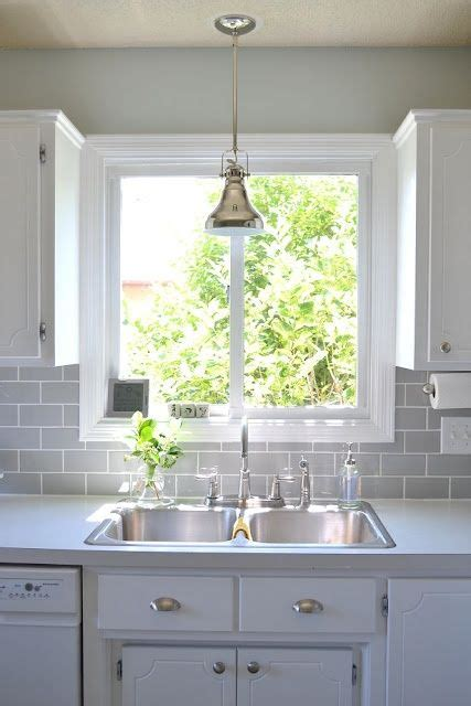 grey subway tiles  kitchen grey subway tile kitchen