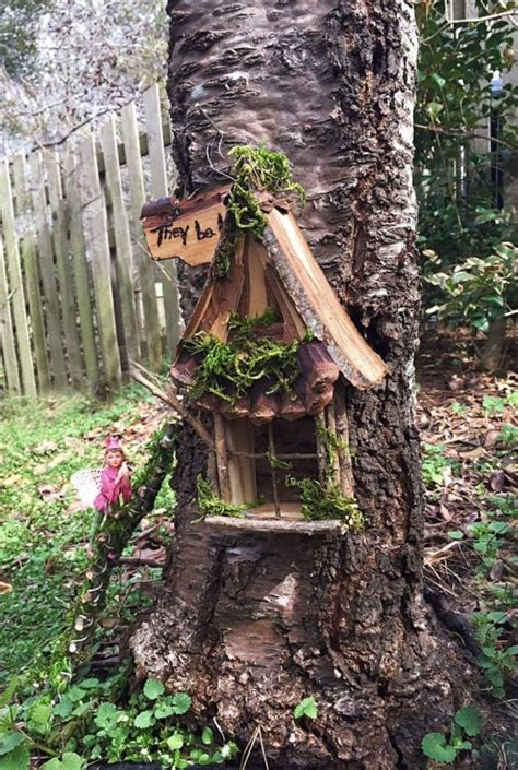 fairy garden ideas enchanted forest tree houses gnomes