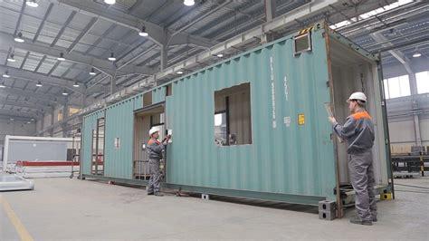 fabricant de bureau modulaire maison construction modulaire maison container