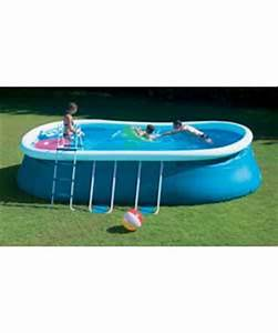 Pop Up Pool : 18ft oval quick pop up pool set outdoor toy review compare prices buy online ~ Orissabook.com Haus und Dekorationen