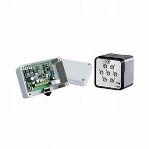 Came Small Surface Mounted Keypad With 1 Channel C  Board -  U00a3116 35