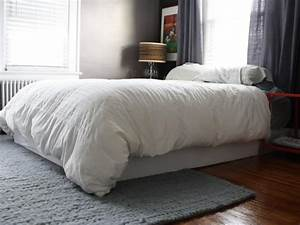Cover Your Boxspring With An Easy Fabric Wrap How Tos DIY
