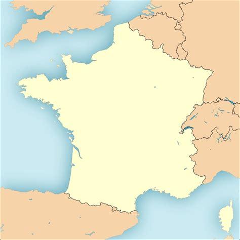 Carte De Avec Region Vierge by Cartes De Frances Vierges Avec D 233 Limitations Des R 233 Gions