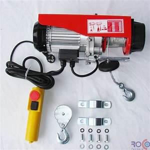 Palan Electrique 220v : palan 600 treuil electrique 220v 300 600kg accessoires ~ Edinachiropracticcenter.com Idées de Décoration
