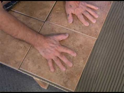 how to lay tile plywood