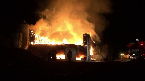 Barn Fires by Much Damage To Find Cause Of Barn Wnep