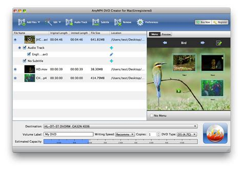 Application Creator by Anymp4 Dvd Creator For Mac Shareware Version 6 1 22 By