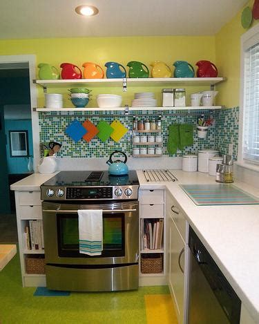 colorful kitchens ideas small kitchen decorating tips decoration ideas 2357