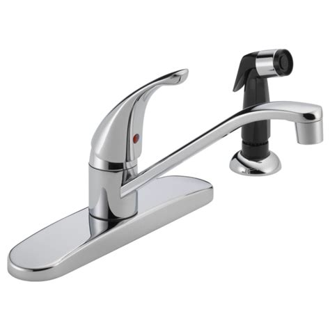 peerless kitchen faucet manual p115lf single handle kitchen faucet
