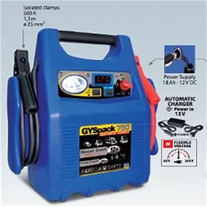 Booster Batterie Voiture : booster gys gyspack 750 ~ Medecine-chirurgie-esthetiques.com Avis de Voitures