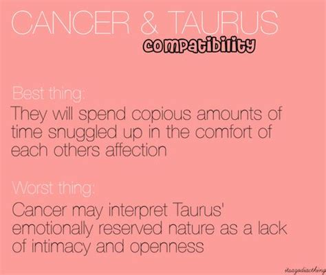 Taurus Cancer In Bed by Cancer Taurus That S My Sign