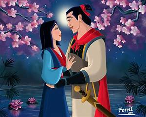 MULAN AND SHANG by FERNL on DeviantArt