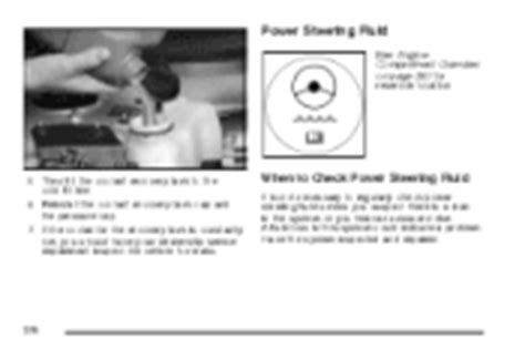2007 Buick Lacrosse Owners Manual by Where Do I Find Power Steering Fluid 2007 Buick