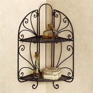 Decorating the house with wrought iron wall decor