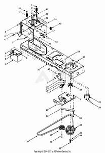 Mtd 13au608h016  2000  Parts Diagram For Power Take