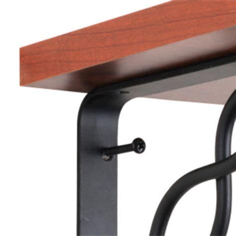 black decorative shelf bracket screws at menards 174