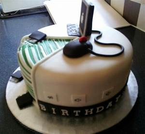 Computer Enthusiast 21St Birthday Cake - CakeCentral com