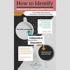 How To Identify Independent And Dependent Clauses