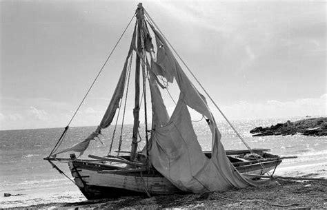 Refugee Boat Lands On Spanish Beach by Florida Memory Haitian Refugee Boat Washed Up On Shore