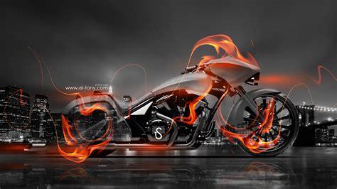 super moto fire crystal city bike  hd wallpapers