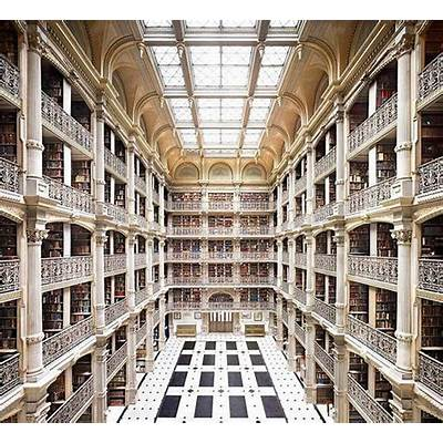 Peabody Library BaltimoreGoPinterest