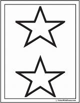 Coloring Stars Etoile Nouveaux Populaires Printable Pdf Stacked sketch template
