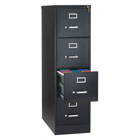 4 Drawer Letter Size File Cabinet by Hirsh 26 5 Quot Vertical Letter Size 4 Drawer File