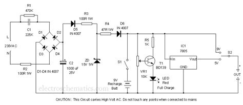 portable power supply circuit