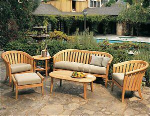 lenong grade teak wood pc outdoor garden patio sofa