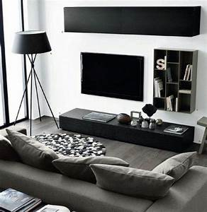beautiful salon noir blanc et violet images amazing With deco salon noir et blanc
