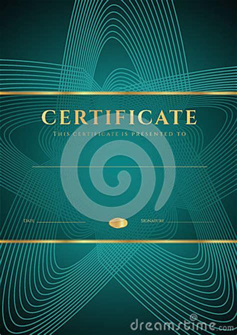 dark green certificate diploma template stock photography