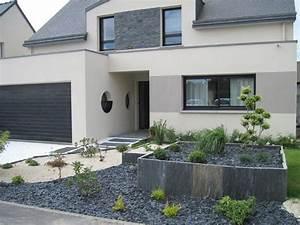 jardiniere en palis d39ardoise jardin pinterest With decoration jardin avec pierres 4 deco piscine pour un exterieur confortable et elegant