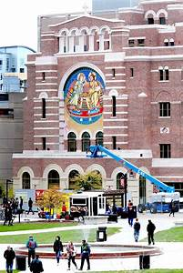 Shimmering St. Paul's mosaic a striking addition to campus ...