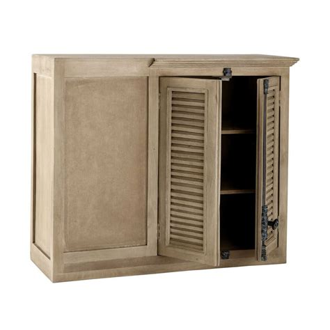 meuble d angle haut cuisine meuble haut d 39 angle de cuisine en manguier l 100 cm