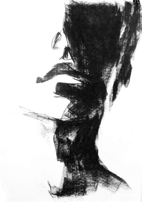 ideas  charcoal sketch  pinterest