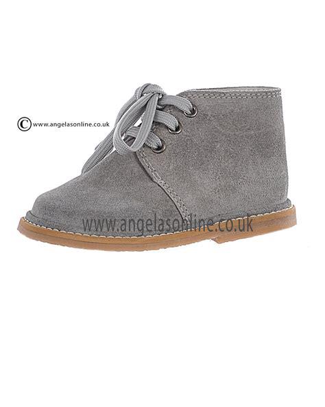 borboleta boys smart suede light grey winter boot