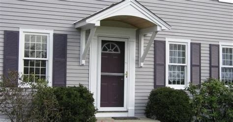 Simple Overhang/canopy/awning/hood Over Front Door